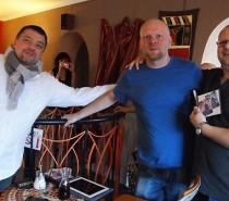 Křtili jsme novou e-knihu Pavla Brycze