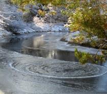 Studený (foto)drift kolem Teplé Vltavy