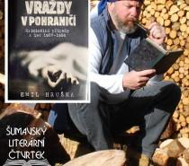 Šumavský knižní čtvrtek… Vraždy v pohraničí