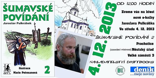Jaroslav Pulkrábek - křest Prachaticei1