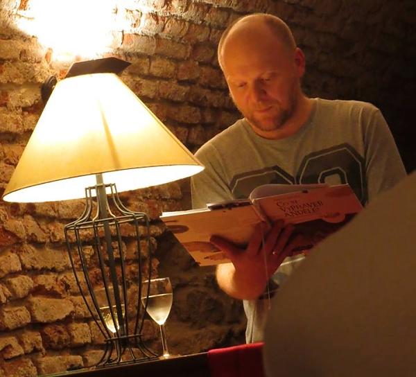 Pavel Brycz - čtení