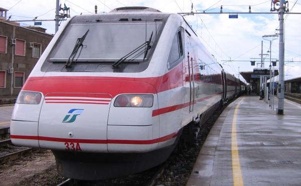 Kalabrie železniční - estrela Reggio